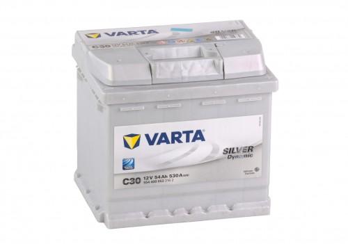 Autobaterie VARTA SILVER Dynamic 12V 54Ah 530A, C30