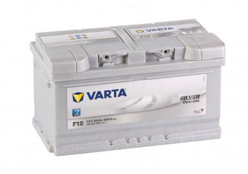 Autobaterie VARTA SILVER Dynamic 12V 85Ah 800A, F18