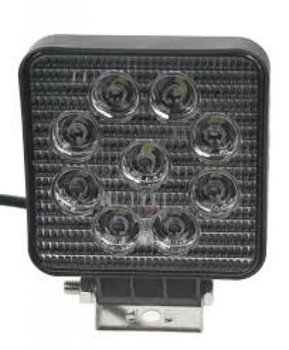 Lampa zadní 128x110 9led-30V
