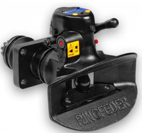 Automatický závěs s průměrem čepu 50 mm. Rozteč otvorů: 160 x 100 mm
