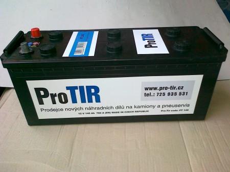 Autobaterie 12V 140Ah 760A ProTir 760A (EN)