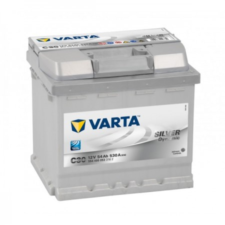 Autobaterie VARTA SILVER Dynamic 12V 52Ah 520A, C6