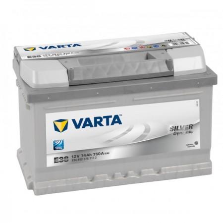 Autobaterie VARTA SILVER Dynamic 12V 74Ah 750A, E38