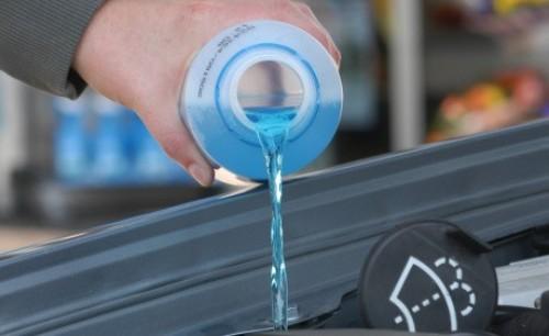 Kapalina nemrznoucí směs do ostřikovačů -22°C 5 litrů